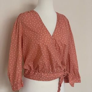 Madewell Wrap Blouse